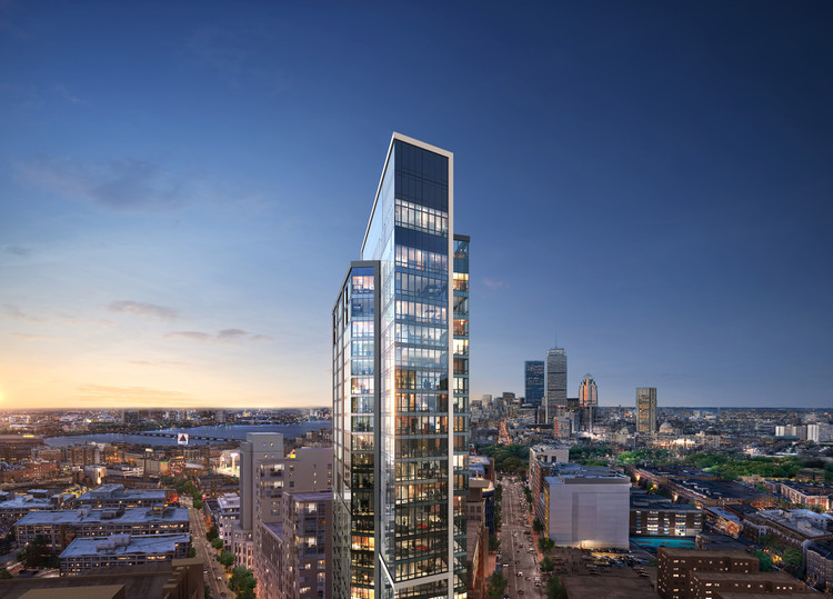 Arquitectonica Designs New Luxury Residential Tower for Boston, © Arquitectonica