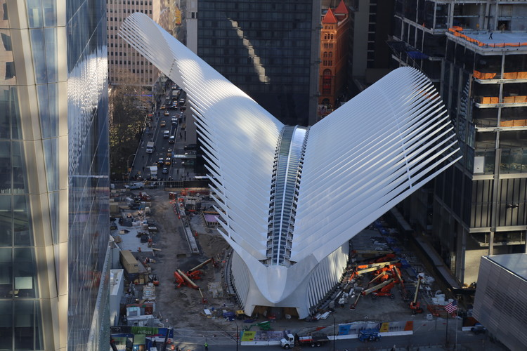 World Trade Center Transportation Hub. Image © Santiago Calatrava