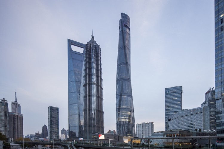 These are the Top 300 Architecture Firms in the US, Shanghai Tower / Gensler. Image © Gensler/Shen Zhonghai