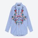 Floral Poplin Shirt via ZARA