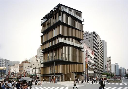 Asakusa Culture and Tourism Center. Image © Takeshi Yamagishi