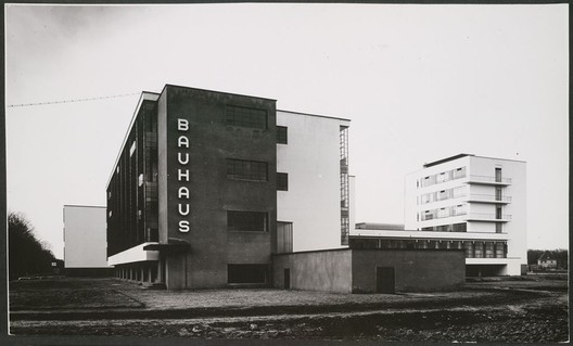 Bauhaus School Photograph via 99% Invisible. Image © © Lucia Moholy Estate/Artists Rights Society (ARS), New York/VG Bild-Kunst, Bonn