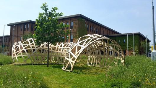 UWE Digital Design Research Unit Pavilion 2016 (University of the West of England). Image Courtesy of John Harding