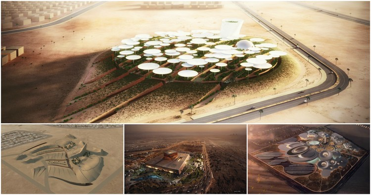 """Weston Williamson + Partners Win Competition to Design """"Science City"""" in Egypt"""