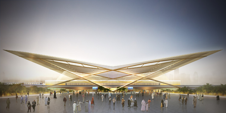 Weston Williamson+Partners Wins Competition for Dubai 2020 Rail Link, Courtesy of Weston Williamson+Partners