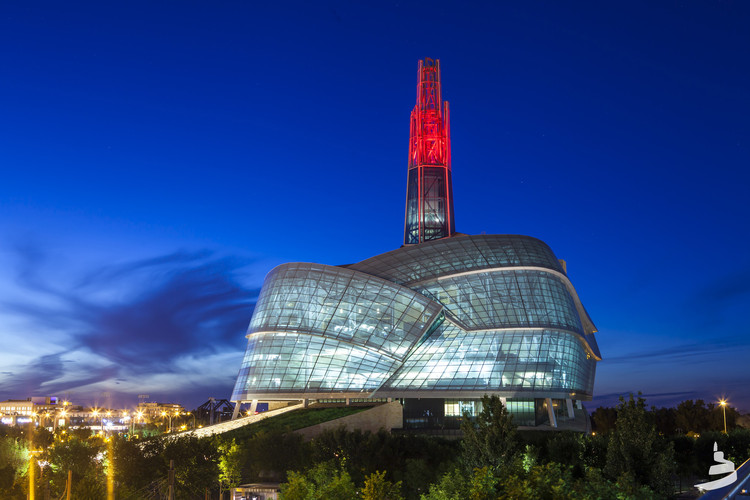 Best Soft Power Cultural Organisation Award: The Canadian Museum of Human Rights, Manitoba / Antoine Predock. Image © Aaron Cohen/CMHR-MCDP