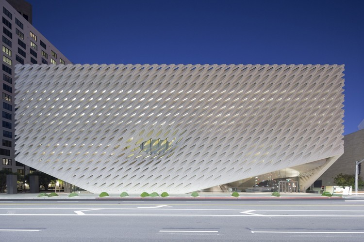 Museum Architecture of the Year: The Broad Museum, Los Angeles / Diller, Scofidio + Renfro. Image © Iwan Baan
