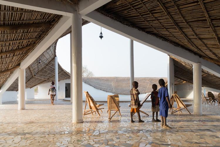 Best New Museum, Africa: Sinthian Cultural Centre (THREAD), Senegal / Toshiko Mori. Image © Iwan Baan