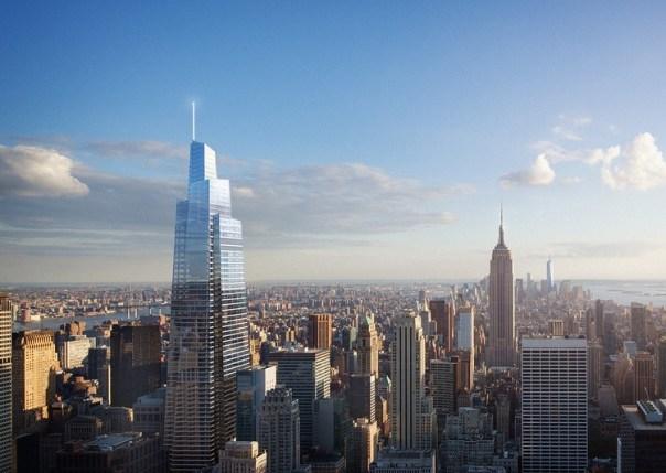Comienza construcción de la segunda torre más alta de Nueva York, Courtesy of SL Green Realty Corp