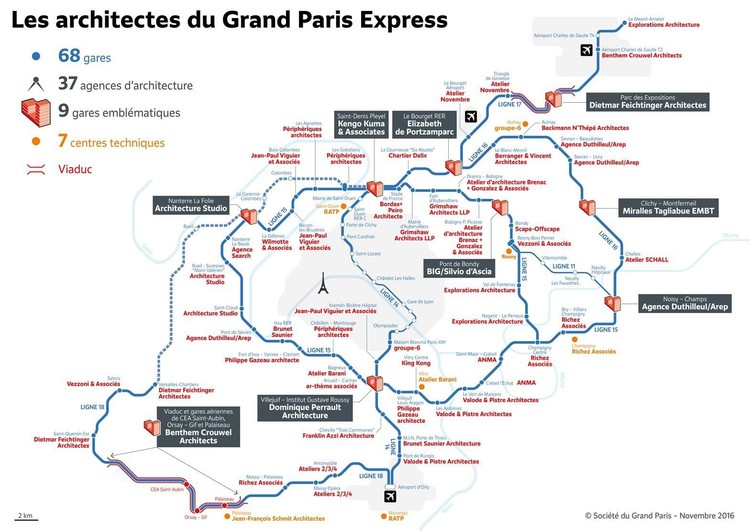 Courtesy of Grand Paris Express