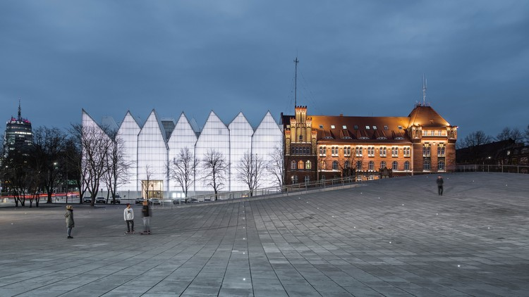 Robert Konieczny + KWK Promes' National Museum in Szczecin Named World Building of the Year 2016, National Museum in Szczecin - Dialogue Centre Przełomy / Robert Konieczny + KWK Promes. Image via World Architecture Festival
