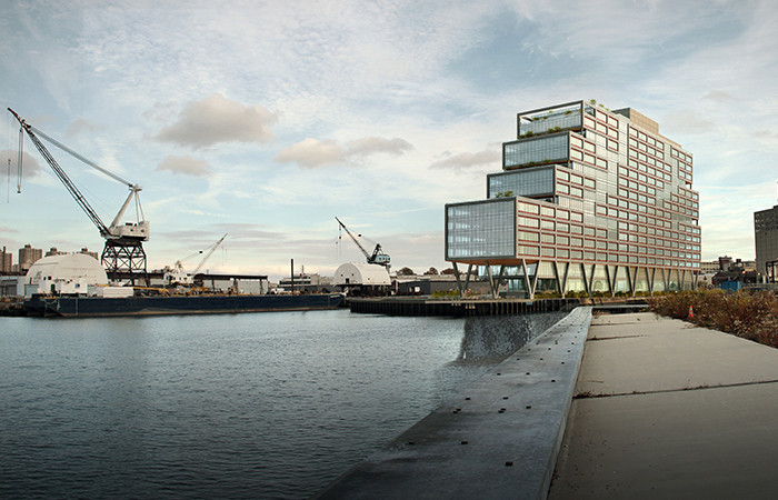 Dock 72 / S9 Architecture + MPFP. Image Courtesy of S9 Architecture and MPFP