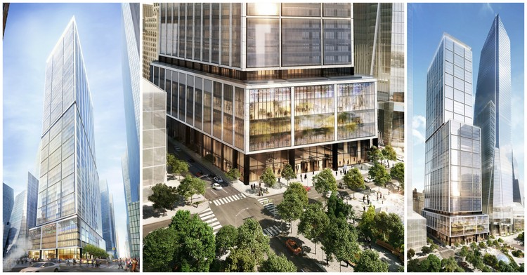 Foster + Partners' Plans for 50 Hudson Yards in New York Unveiled, Courtesy of Related-Oxford