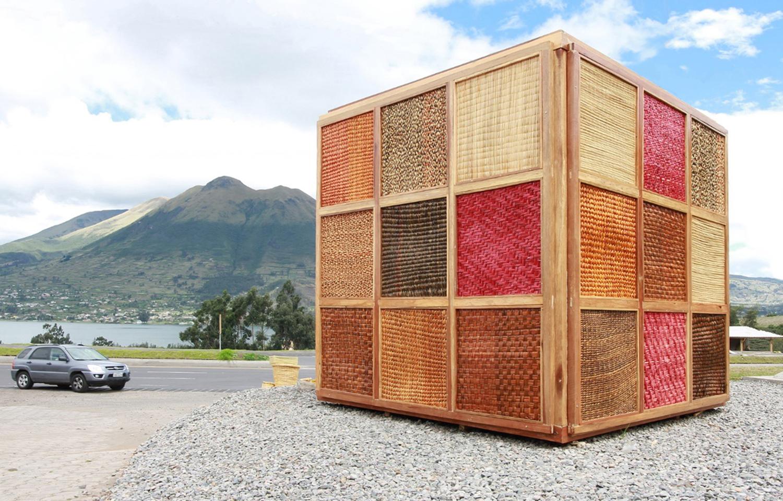 Galera De Cubo De Totora En Ecuador Fortaleciendo La