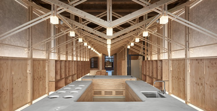 The Inverted Truss  BP Architects | ArchDaily
