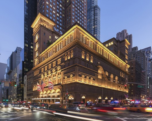 Carnegie Hall Studio Towers Renovation Project / Iu + Bibliowicz Architects LLP. Image © Jeff Goldberg
