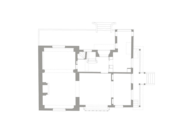 Previous State - Ground Floor Plan