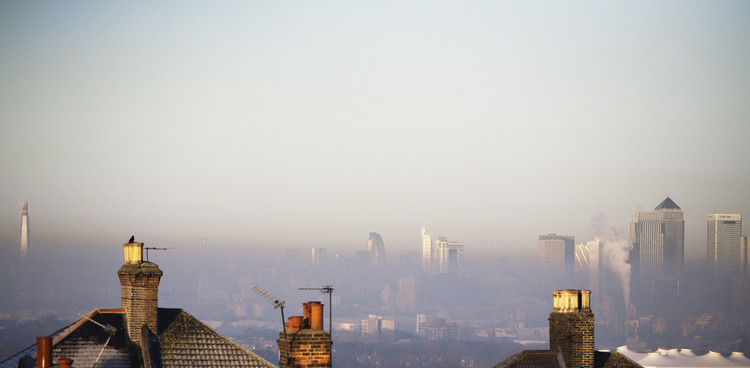 London still suffers from air pollution. Image © Flickr user stumayhew. Licensed under CC BY-NC-ND 2.0