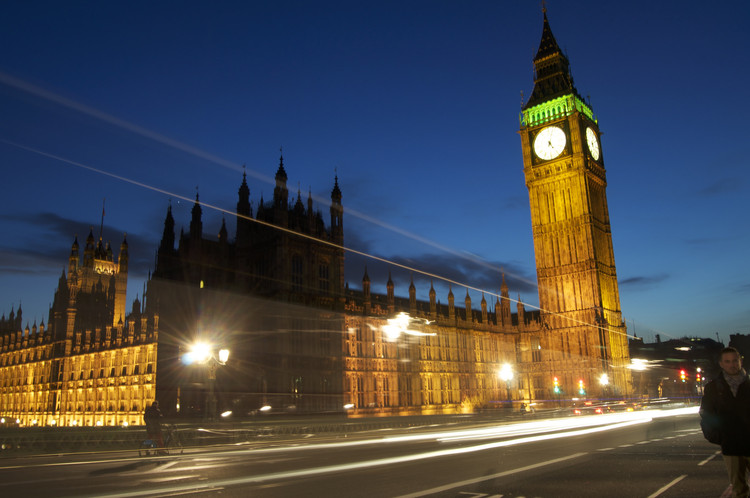 How Rebuilding Britain's Houses of Parliament Helped Create Clean Air Laws, The British Houses of Parliament. Image © Flickr user megantrace. Licensed under CC BY-NC 2.0
