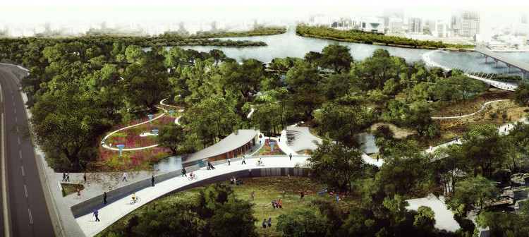 Winners Revealed in Competition to Redesign Mumbai's Maharashtra Nature Park, Winner. Image © Sameep Padora & Associates
