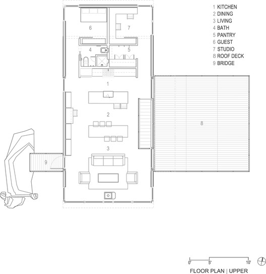 Floor Plan - Upper