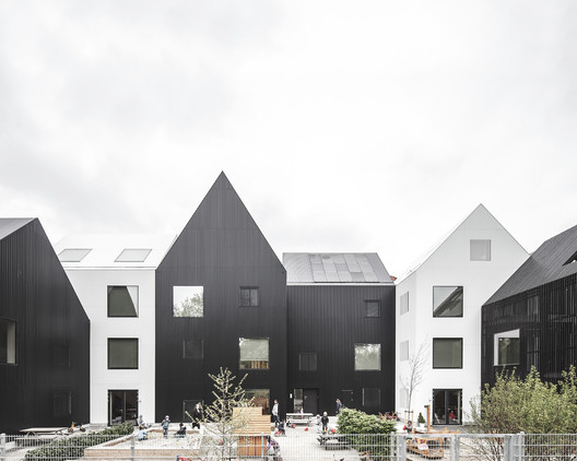 Winner in the Educational Architecture Category. Frederiksvej Kindergarten / COBE. Image © Rasmus Hjortshøj