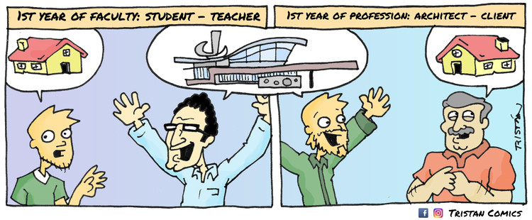 The Architecture Student Through 15 Comic Strips ArchDaily