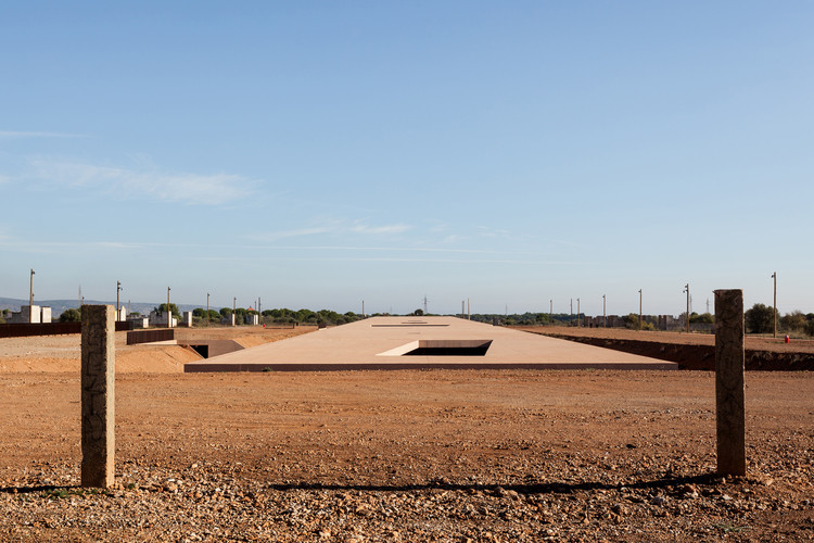 Rivesaltes Memorial Museum; Rivesaltes, France / Rudy Ricciotti. Image © Kevin Dolmaire