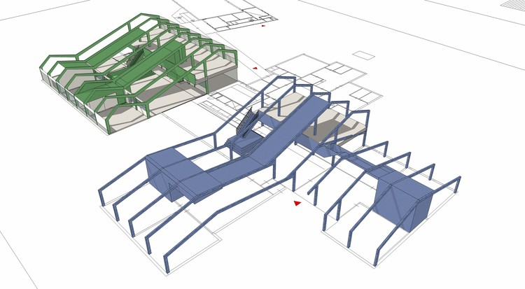 Structure - Axonometric View