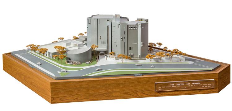 Original 1966 North Building model. Image Courtesy of Tryba Architects