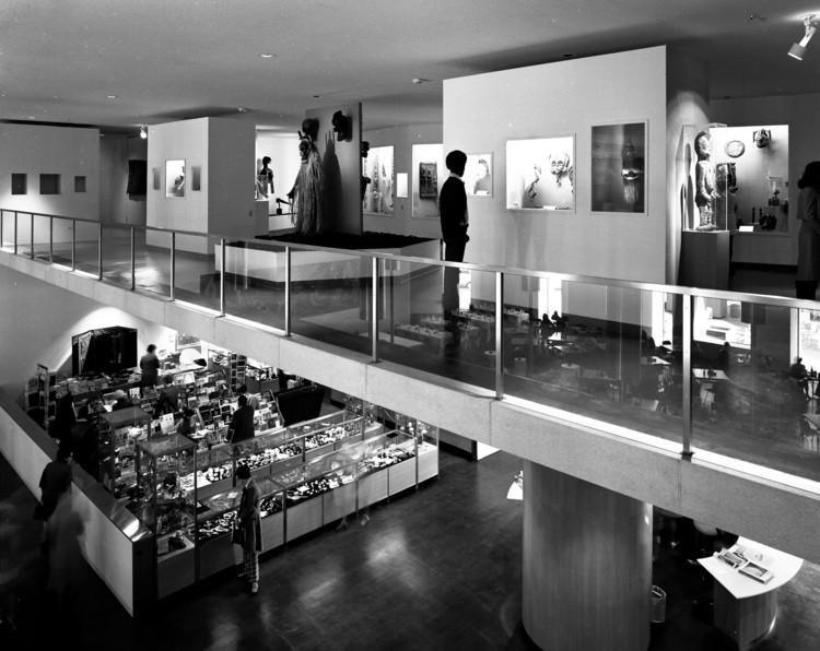 Denver Art Museum North Building galleries. 1971. Image © Wayne Thom