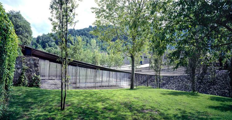Les Cols Restaurant Marquee (2011). Image © Hisao Suzuki. Image Cortesía de Pritzker Prize
