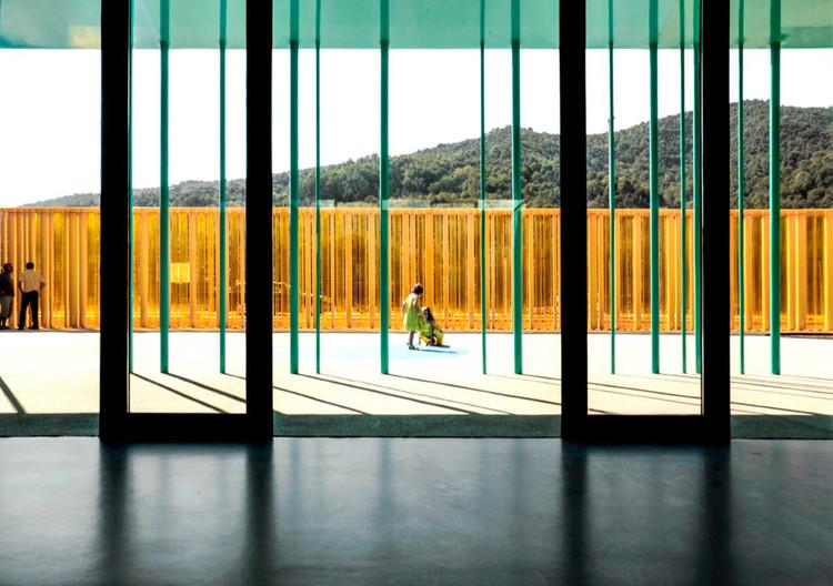 El Petit Comte Kindergarten (2010). Image © Hisao Suzuki. Image Cortesía de Pritzker Prize