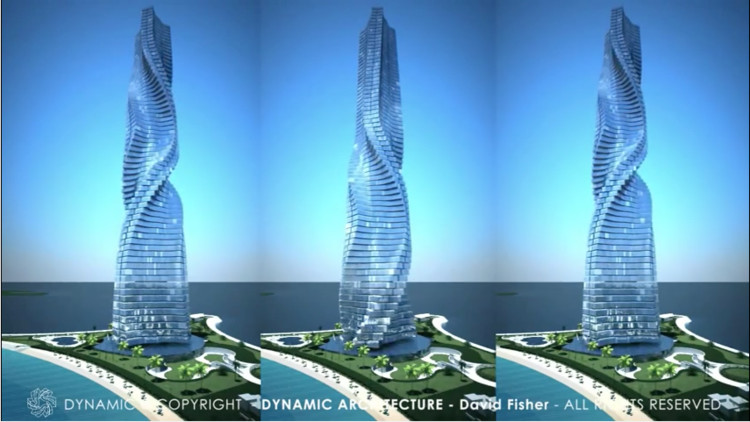 Dubai Reaches Dizzying Heights With Possible Rotating Building , via OfficialDynamicArch