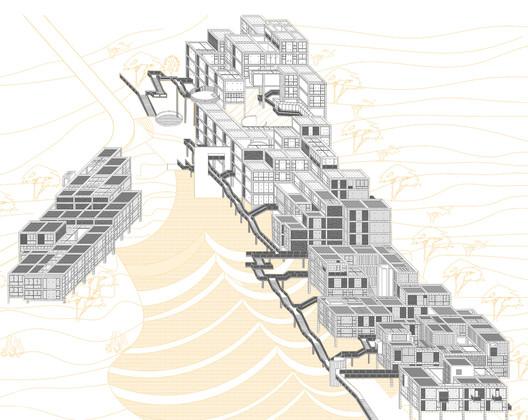 Axonometrics. Image Courtesy of West Line Studio