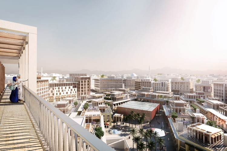 Big Urban Projects: Madinat Al Ifran, Muscat, Oman, designed by Allies & Morrison for Omran Tourism Development Company (ongoing project). Image Courtesy of The Architectural Review