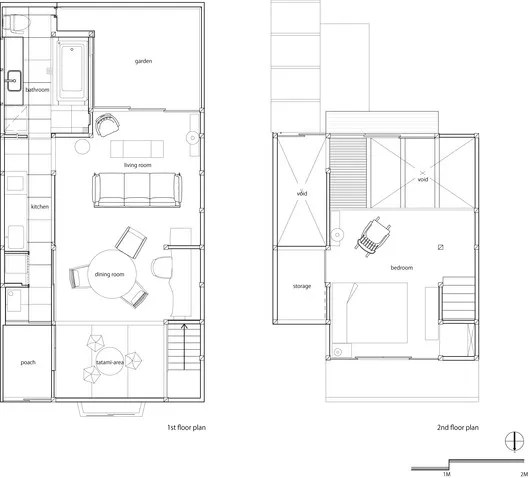 First Floor Plan - Second Floor Plan