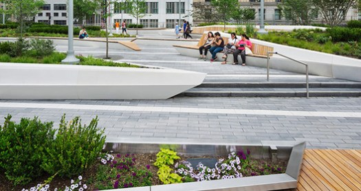LIBERTY PARK; New York, New York / AECOM. Image Courtesy of The American Architecture Awards