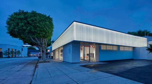 BLU DOT SHOWROOM; West Hollywood, California / Standard Architecture. Image Courtesy of The American Architecture Awards