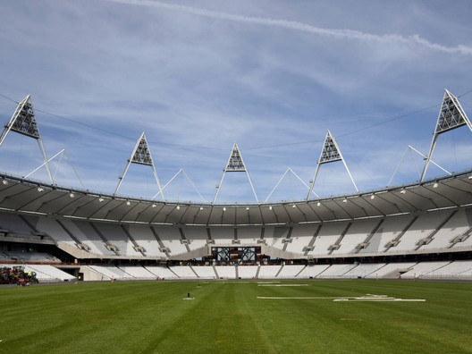 London Olympic Stadium by Populous. Image © Morley von Sternberg