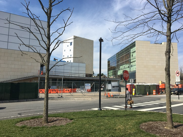 Lewis Center for the Arts – Princeton University. Image © Steven Holl Architects