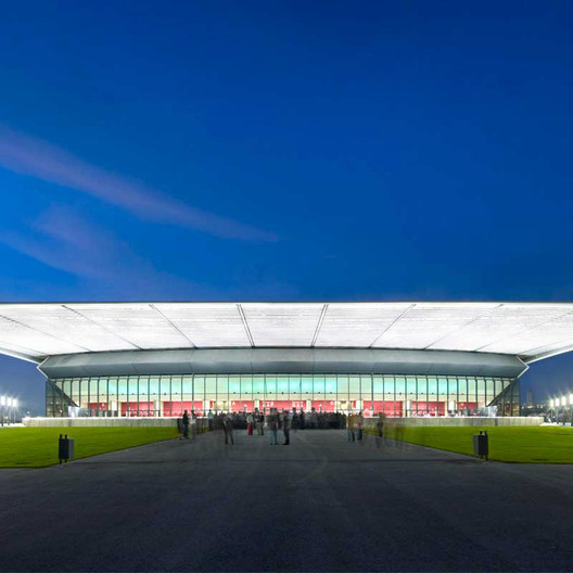 Zénith / Foster + Partners; Shortlisted - Culture, 2009. Image Courtesy of World Architecture Festival