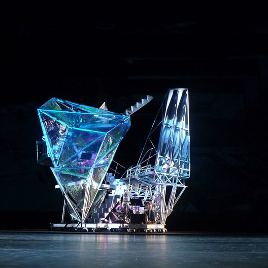 Merce Cunningham Dance Company Stage Design / Miralles Tagliabue EMBT; Shortlisted - Culture, 2009. Image Courtesy of World Architecture Festival