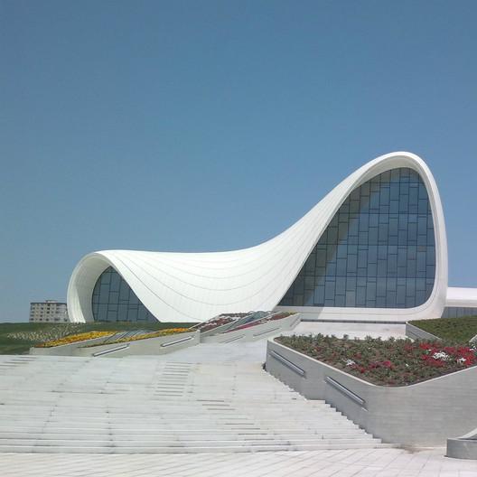 Heydar Aliyev Center / Zaha Hadid Architects; Shortlisted - Culture, 2013. Image Courtesy of World Architecture Festival