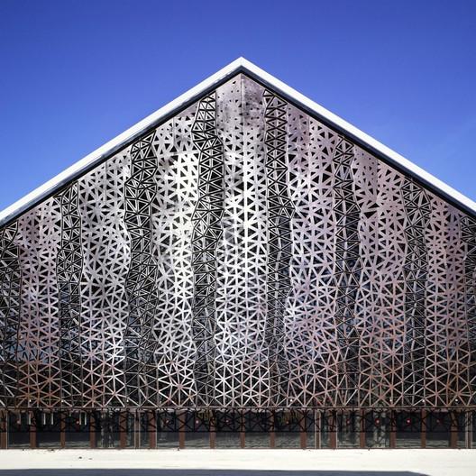 Grande Halle / Agence Moatti et Rivière; Entrant - Culture, 2009. Image Courtesy of World Architecture Festival