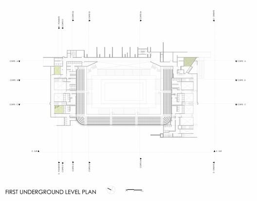 1st Underground Leve Plan