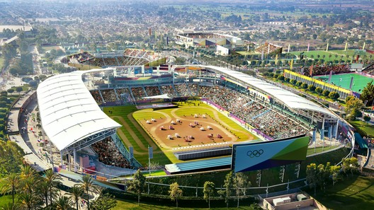 South Bay Sports Park - Modern Pentathalon. Image Courtesy of LA 2024