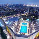 Downtown Sports Park - USC Dedeaux Field - Swimming. Image Courtesy of LA 2024