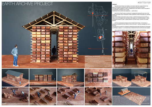 Earth Archive Project / Yusuke Suzuki and Léo Allègre (Yusuke Suzuki Design Office, Japan). Image via Nka Foundation