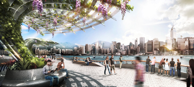 James Corner Field Operations' To Lead Much Needed Revitalisation of Hong Kong's Waterfront , via James Corner Field Operations